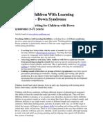 Artikel Down Syndrome