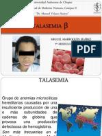 TALASEMIA β (hemato)