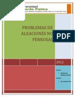 Aleaciones No Ferrosas- Villavicencio