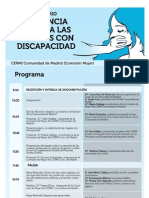 Programa - Seminario Violencia Mujer CERMI Madrid 20-11-12