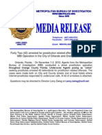 Prostitution Detail Media Release