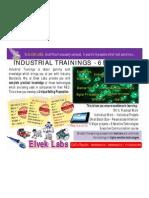 Elvek Labs - Industrial Trainings