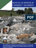 Perros de Rescate en los Servicios de Bomberos