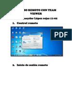 Acceso Remoto Con Team Viewer