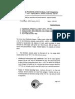 Revised Order on R C Measures