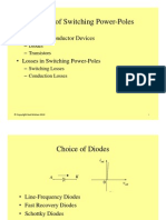 #3 Design of Switching Power-Pole