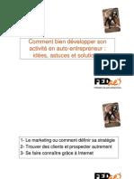 Comment Bien Développer Son Activité En Auto-Entrepreneur