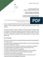 Lettre Ouverte - Proposition II JB Juillet
