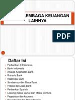 Bank dan Lembaga Keuangan Lainnya - 1