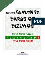 Valdunier Pereira Junior-Certamente Daras Os Dizimos