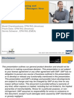 SAP Business Planning and Consolidation Data Manager Now and the Future