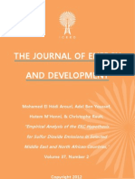 """Empirical Analysis of the EKC Hypothesis for Sulfur Dioxide Emissions in Selected Middle East and North African Countries,"" by Mohamed El Hédi Arouri, Adel Ben Youssef, Hatem M'Henni, & Christophe Rault"