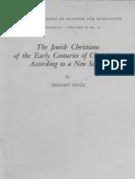 The Jewish Christians of the Early Centuries of Christianity according to a New Source- היהודים-הנוצרים במאות הראשונות של הנצרות על פי מקור חדש