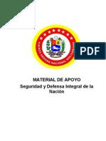 Seguridad y Defensa Integral Del a Nacion