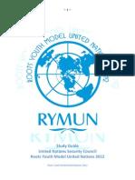 Unsc Study Guide Rymun 2012