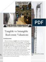 Tangible vs Intangible Realestate Valuations