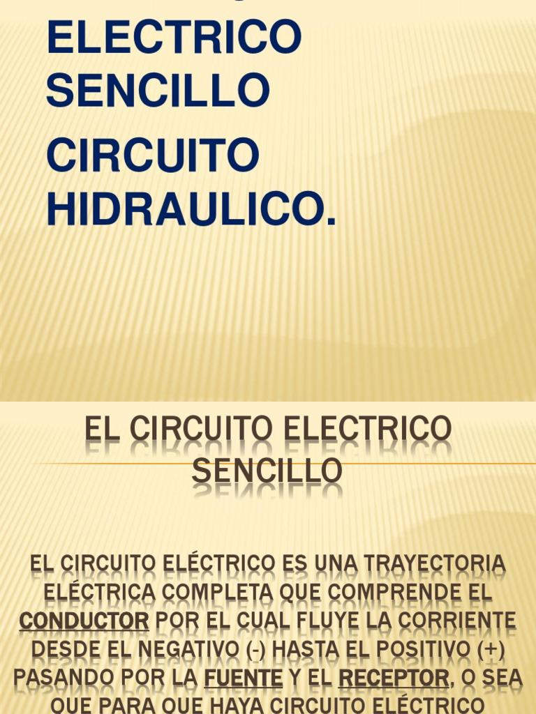 Circuito Sencillo : Circuito electrico sencillo