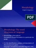 Morphology - English Linguistics