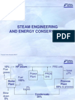 Steam Engg and Energy Conservation