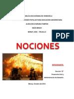 Causas de Incendios