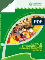 Manual de Intervencion Del Programa Educativo de Ludotecas