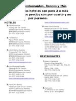 Hoteles y Restaurantes Centro