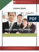 Weekly Newsletter-equity 05nov2012