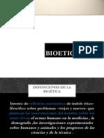 Bioetica Bueno