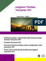Pencegahan Perilaku Penularan HIV - Pandu Riono