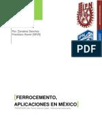 Aplicaciones Del Ferrocemento en Mexico