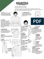 Galactica Uniform Guide for Tailored Measurements - Metric