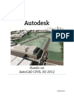 AutoCAD Civil 3D 2012 - Treinamento Hands-On