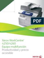 Catalogo Xerox 4260