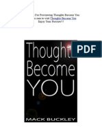 Thoughts Become You by Mack Buckley (Preview)