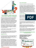 AyalaLand International Marketing - Investing