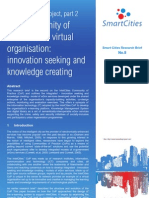 Smart Cities Research Brief Intel Cities Community of Practice Innovation Seeking
