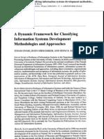 Information Systems Development Methodology