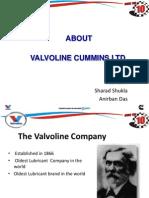 Valvoline Introduction PPT