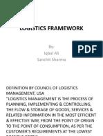 Logistics Framework