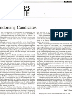 PJR Reports Nov. 2008 (Editor's Note)
