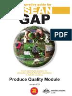 ASEAN GAP Produce Quality Module