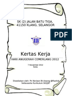 Paper Work Anugerah Cemerlang 2012