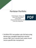 Penilaian Portfolio