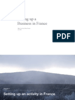 Setting Up a Business in France (as for 2003)