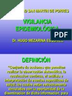 Vigilancia Epidemiologia Universidad San Martin de Porres