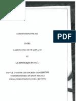 DTC agreement between Mali and Monaco