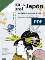 Programa I Semana Cultural de Japón en Málaga