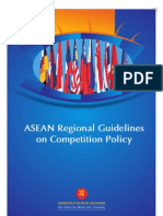 ASEAN Regional Guidelines on Competition Policy