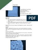 5996448 Crochet Cotton Face Cloth