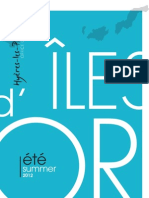 Brochure îles d'Or - Hyères